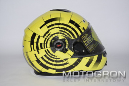 KASK LS2 FF386.21 ABYSS BLACK HI-VIS YELLOW
