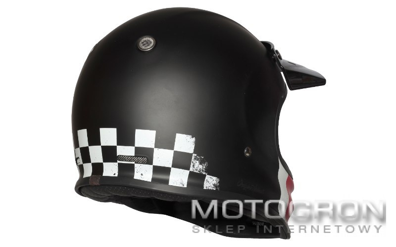 Kask VIRGO DANNY Matt Black S ORIGINE